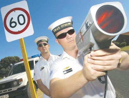 Naval Police Coxswains